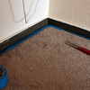 Prepping baseboards