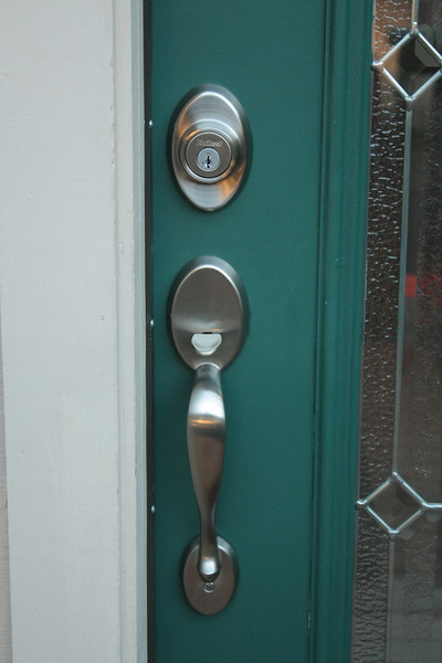 New door hardware