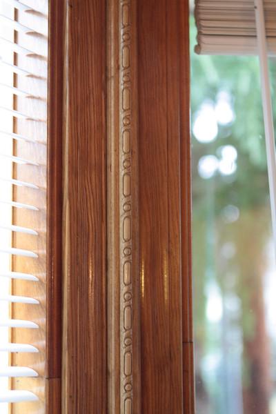 Window seat detail