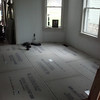 december 1st. concrete floor in stove room