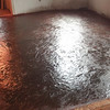 floor after re-color and sealer