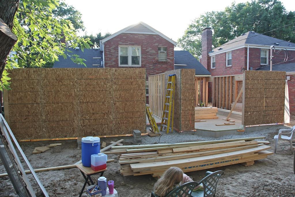 July 27 - full backyard view