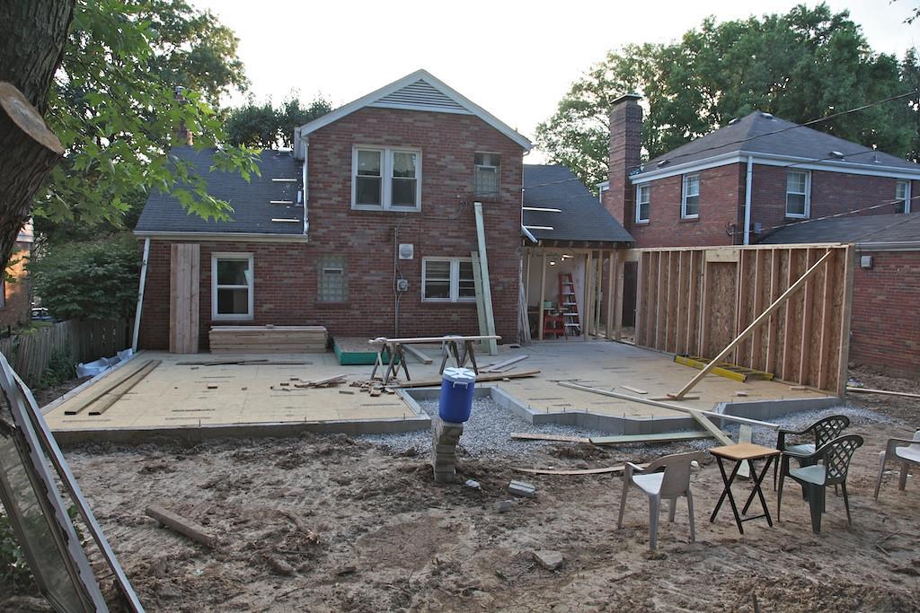 July 22 - full backyard view