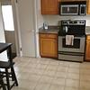 Eat-In Kitchen w/tiled floor, granite counter tops!