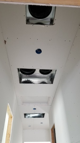 Garage hallway