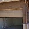 Painted casita garage door
