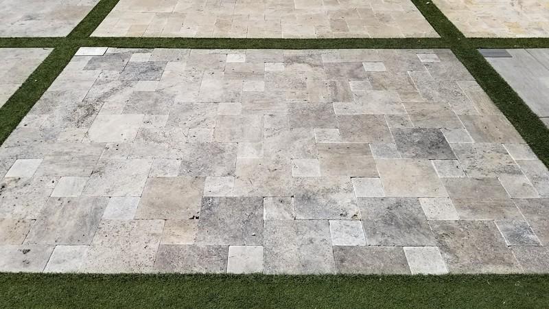 2 piece pinwheel pattern, Silver
