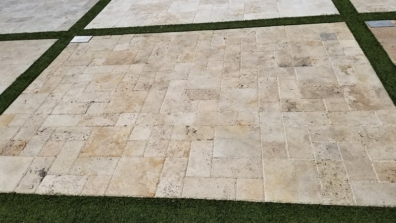 3 piece pattern, Ancient Castle chiseled