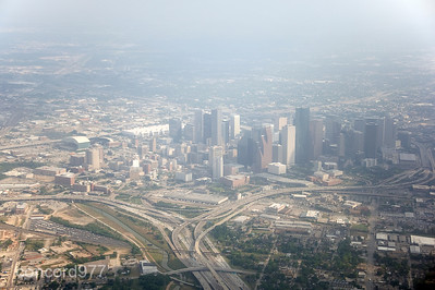 Houston Skyline 04-18-2011