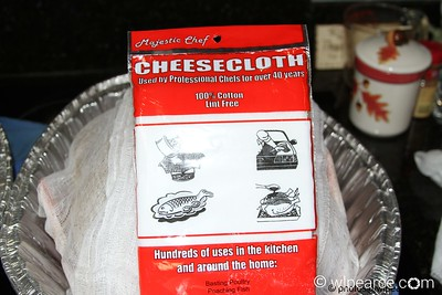 You'll need a package of cheesecloth per turkey.  A poor man's alternative... an old cotton t-shirt works well (wash it first please).  Don't use synthetics... they'll melt on your turkey.  Yuck!