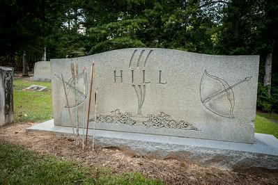 Howard Hill Gravesite