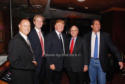 Larry Levine, Eric Trump, Donald Trump, Howard Lorber and Jeff Allen