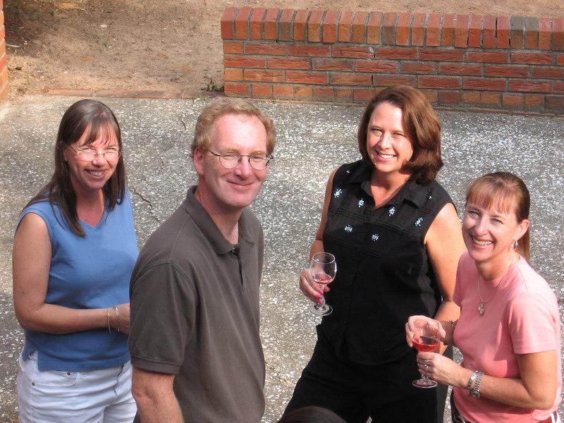 Heather, John, Ann, and Lisa, July 2006.