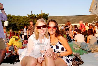 Sarah Mandato and Justine Benisch