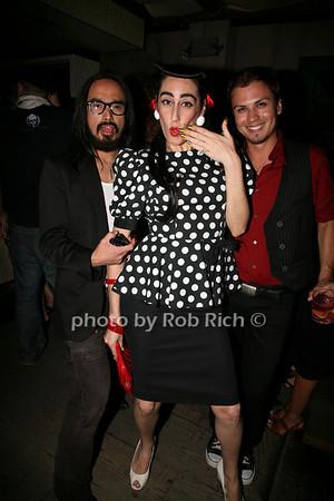 Justin Pep, Lady Fag, James Crow