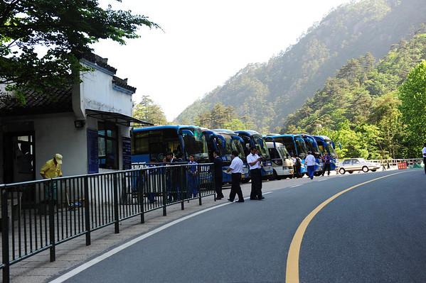 Huangshan Hiking China 2011