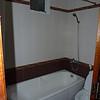 A real bathtub AND showercurtain!!!