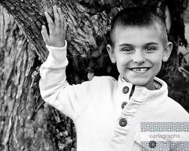 Colin by Tree bw (1 of 1)