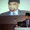 HF7_1086<br /> <br /> Dr Shabbir Bhatti, Vice Chairman of Humanity First gave the welcoming speech