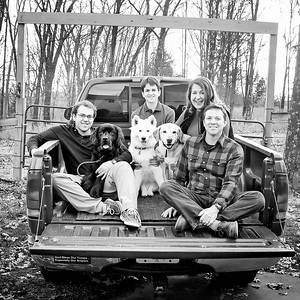 Family in Truck - LOVE! square (1 of 1)-2