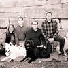 Family! xmas black and white (1 of 1)