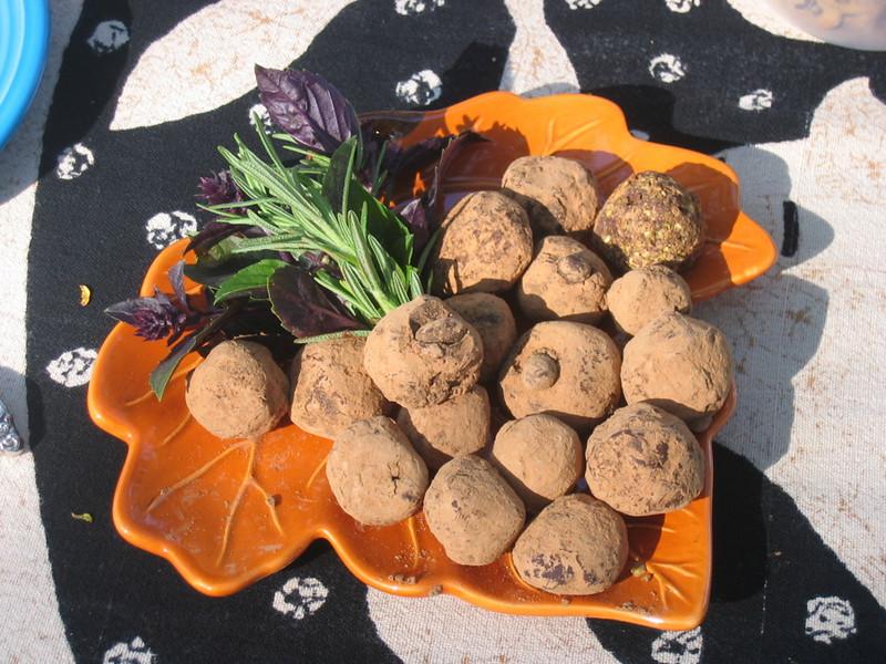 Mmmm... truffles.