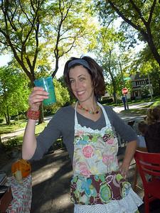 Karen, our neighborhood director of brunch ambiance.