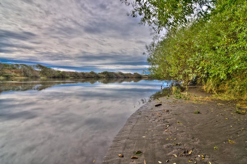 Mad River, near Hammond Bridge, October 2010. Version 1.