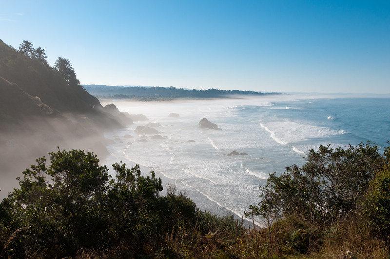 Luffenholtz Beach, Humboldt County, USA. October 2010