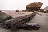 Moonstone Beach, Humboldt County, California, at dawn. September 2011. [Moonstone Beach 2011-09 HDR 12-4 CA-USA_S]