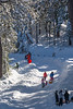 Humboldt Bay families enjoying playing in the snow up Horse Mountain just after Christmas 2015. [Horse Mountain 2015-12 042 Humboldt-CA-USA]