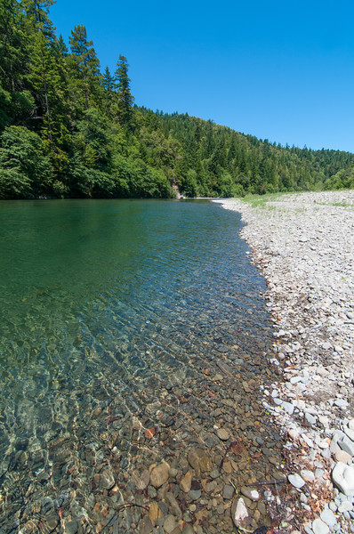 Glorious summer days and the clear Eel River, Humboldt County, California, June 2013. [Eel River 2013-06 001 Humboldt-CA-USA]