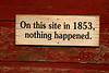 Sign on The Red Mill, Waupaca County, Wisconsin