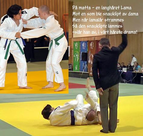 Thomas Lama lykkes med Sangaku for første gang