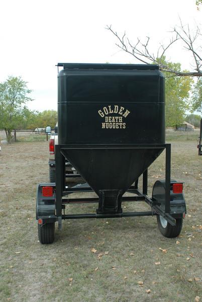 My grain cart I haul corn in.