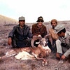 Mother, with guides and game guards, took this fine urial ram.