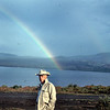 That rainbow meant good luck for Dad on a B.C. hunt.