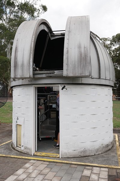 "Macquarie University 16"" telescope dome"