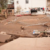 Copyrighted. Free for non-commercial use only.<br /> Rushing water moved large amount of soil collapsing sidewalk.