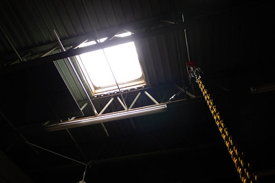 Hurricane Sandy Damage in office and warehouse. Skylights broken in warehouse.