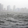 Gust patches at Hudson river in Manhatten at east side on Monday 29-oct 2012...pic  Mohammed Jaffer-SnapsIndia