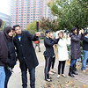 Indian Americans taking pix of NYC skyline before Hurricane Sandy Arrives on Monday 29th oct 2012---pic Mohammed jaffer-SnapsIndia