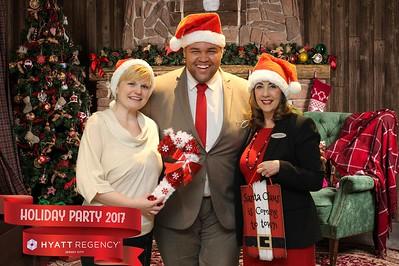 Hyatt Regency JC 2017 Holiday Party