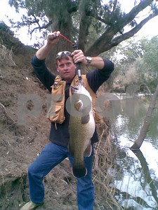 80cm murray cod, about 22lb and she was released.