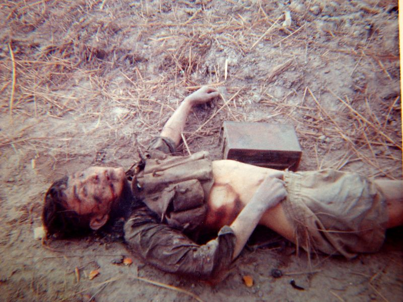 NVA killed by crew of B-32