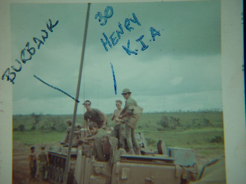 These two men were killed in action.