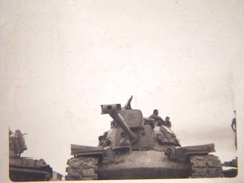 M-48A3 tank.