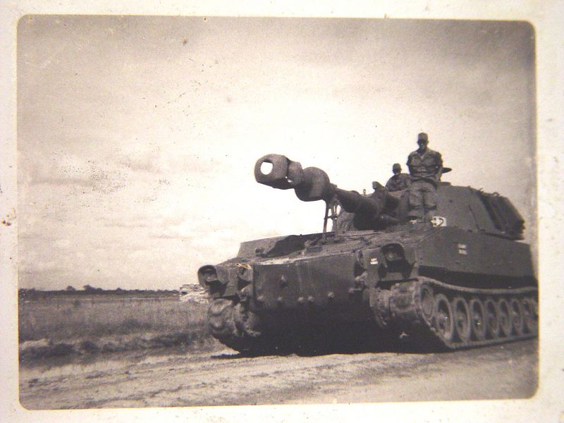 This is a 155mm self propelled gun.