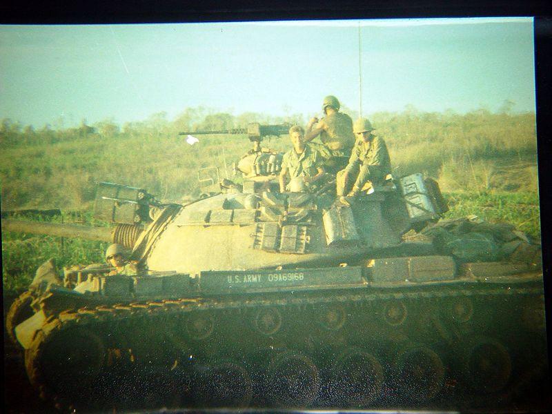 Crew of an M-48A3.