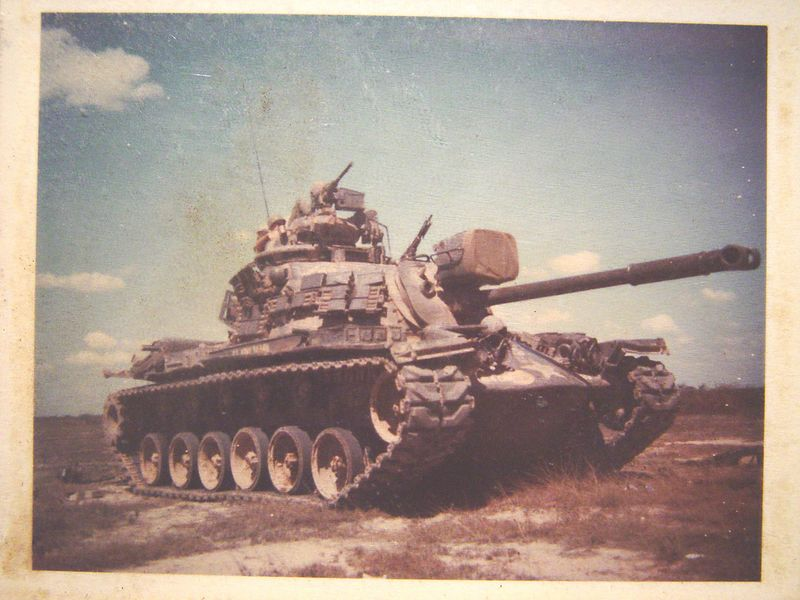 This is Tiny's tank, it's a M-48A3.